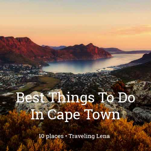 Featured List - Cape Town
