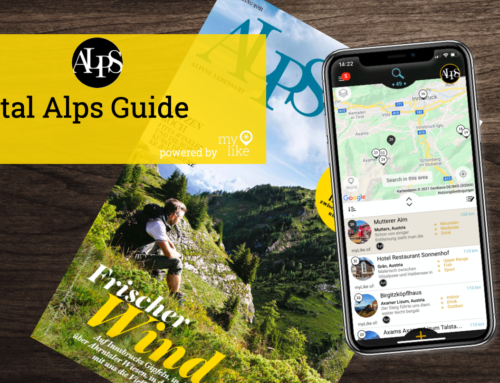 ALPS magazine – now as digital guide for the Alps – powered by myLike