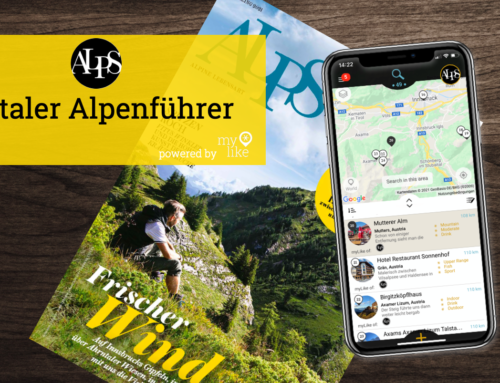 ALPS Magazin – jetzt als digitaler Alpenführer – powered by myLike